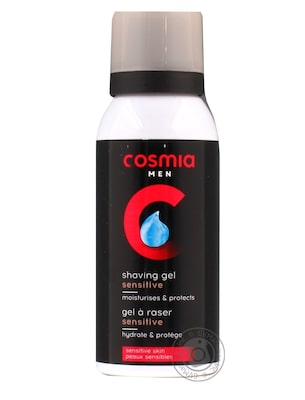Cosmia Gel Ξυρίσματος Sensitive 75ml Travel Size
