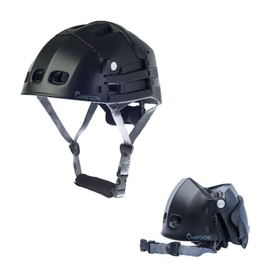 Overade Plixi Fit Helmet Grey (s/m)