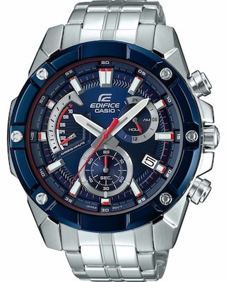 Ρολόι Casio Edifice Toro Rosso Limited Edition Chronograph Silver Stainless Steel Bracelet