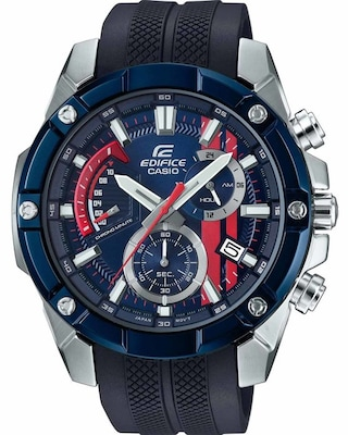 Ρολόι Casio Edifice Toro Rosso Limited Edition Chronograph Black Rubber Strap