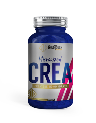 Creatine Monohydrate Micronized Crea (120caps) - Goldtouch Nutrition