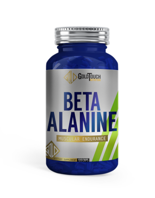 Beta Alanine (120 Caps) - Goldtouch Nutrition