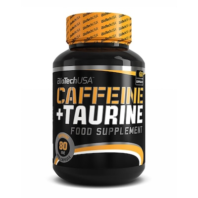 Biotech Usa Caffeine And Taurine (60 Caps)