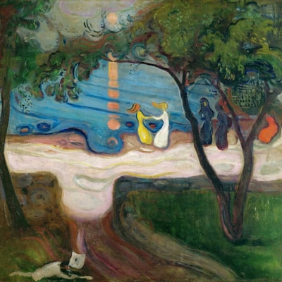 Αφίσα - Dance On The Beach - Munch, Edvard