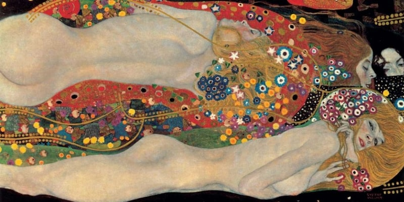 Αφίσα - Sea Serpents - Klimt, Gustav