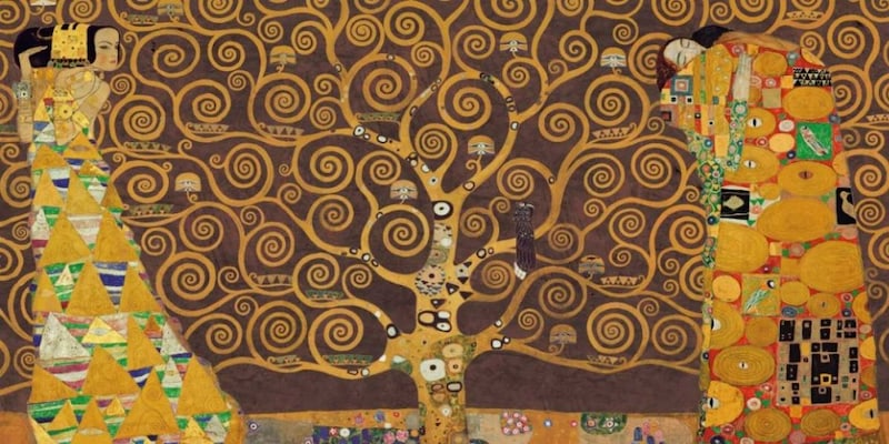Αφίσα - Tree Of Life-brown - Klimt, Gustav
