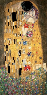 Αφίσα - The Kiss - Klimt, Gustav