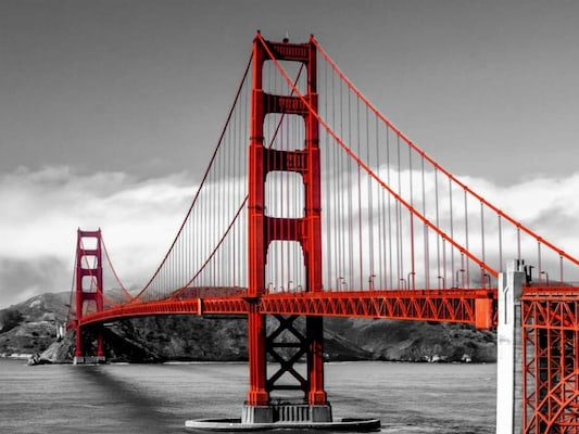 Golden Gate Bridge, San Francisco - Pangea Images