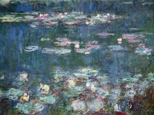 Water-lilies - Monet, Claude