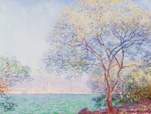Morning Antibes - Monet, Claude