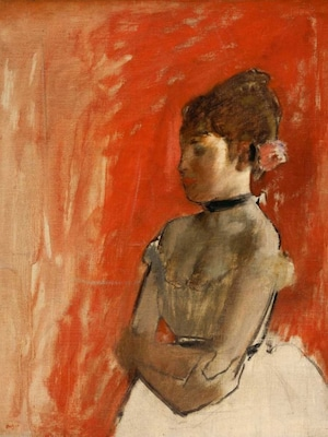 Ballet Dancer With Arms Crossed - Degas, Edgar