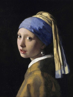 Girl With A Pearl Earring - Vermeer, Jan