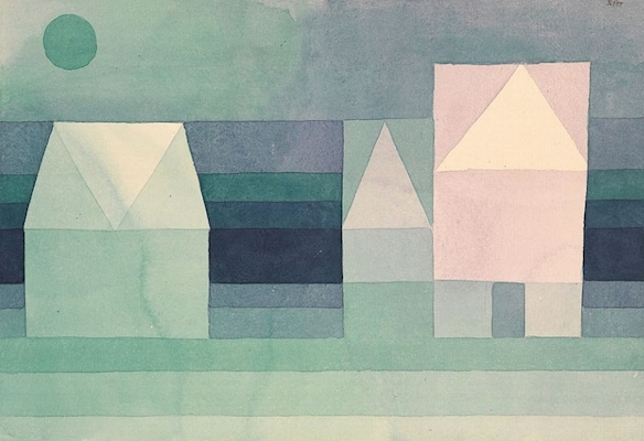 Three Houses - Paul, Klee