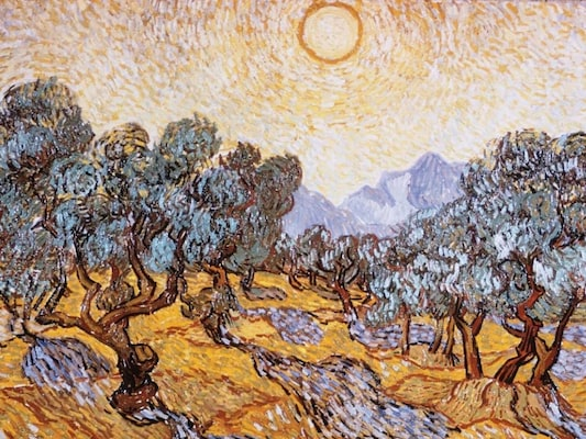 The Olive Trees - Van Gogh, Vincent