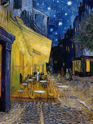 Cafe Terrace At Night - Van Gogh, Vincent