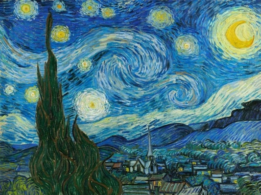 The Starry Night - Van Gogh, Vincent