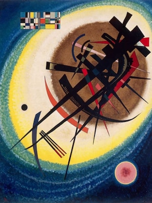 The Bright Oval - Kandinsky, Wassily