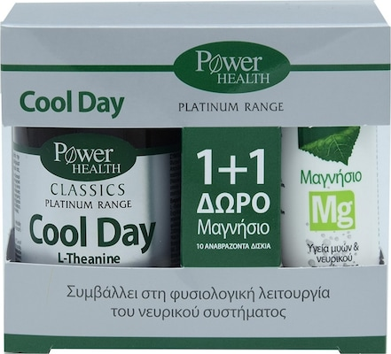 Power Platinum Cool Day 30s Tabs Pr(+magnesium 10s Δωρο)