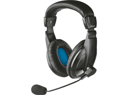 Headset TRUST Quasar Headset for PC and laptop 21661