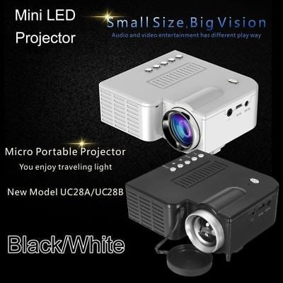Mini Led Portable Projector Hd Home Movie Theater