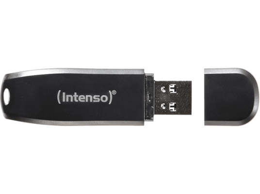 USB Stick Intenso Speedline 64GB 3.0 Μαύρο
