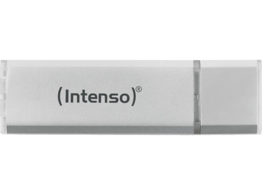 USB Stick Intenso Alu Line 32GB 2.0 - Ανθρακί (2+1τμχ)
