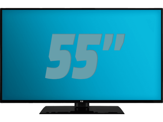 "Τηλεόραση 55"" Smart F&U FL2D5507UH Ultra HD/4K"