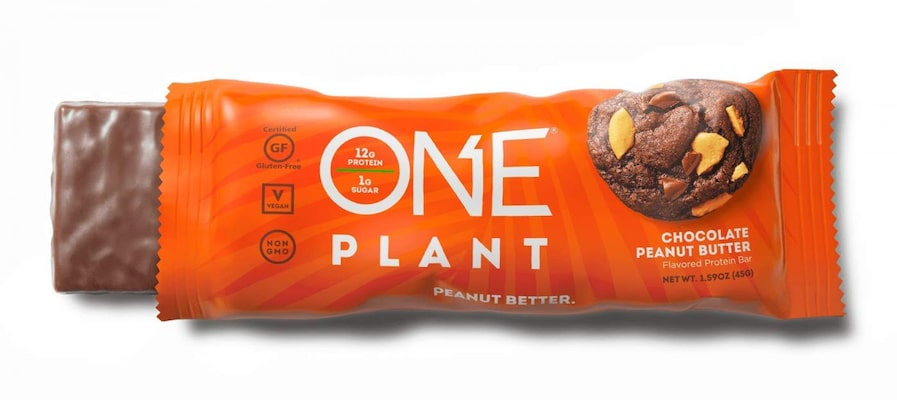 One Bar Plant Chocolate Peanut Butter 45g