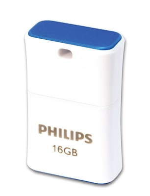 Philips Usb 2.0 16gb Pico Edition Blue Fm16fd85b/00