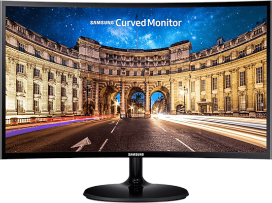 "Οθόνη υπολογιστή LED SAMSUNG LC24F390 24"" Full HD Curved Monitor, Super Slim, Curved 1800R, Wide-vi"