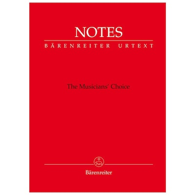 Notes - The Musician's Choice, 32 Pages