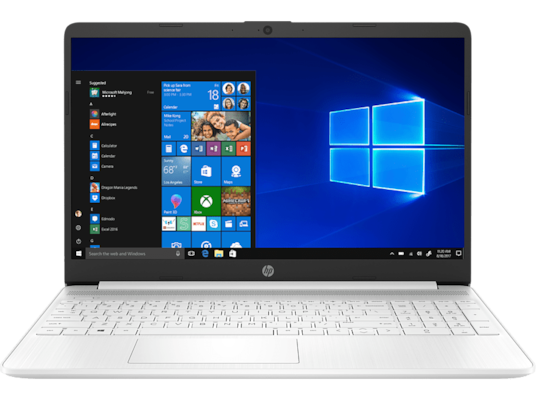 "Laptop HP 15.6"" (Intel Core i3-1005G1/4 GB/256 GB SSD/Intel UHD Graphics) 15s-fq1000nv"