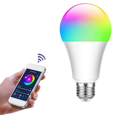 Λάμπα Led Smart Wifi A60 E27 10w 175-265v 806lm 2700-6000k Rgb Dim Tm