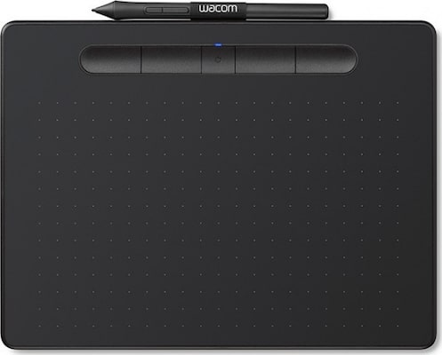 Wacom Intuos S Black – Ψηφιακή Γραφίδα Και Ταμπλέτα (small – 7 Ιντσών)