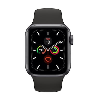 Apple Watch Series 5 Smartwatch Oled Gray 4g Gps (satellite)
