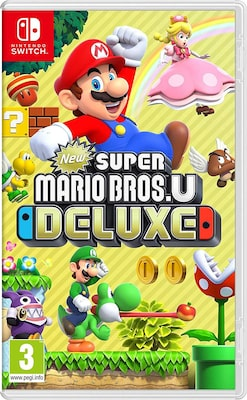 New Super Mario Bros. U Deluxe - Nintendo Switch Game