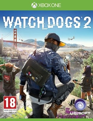 Old Watch Dogs 2 - Xbox One Game