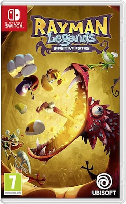 Rayman Legends Definitive Edition - Nintendo Switch Game