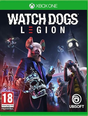 Watch Dogs Legion Resistance Edition - Xbox One Game