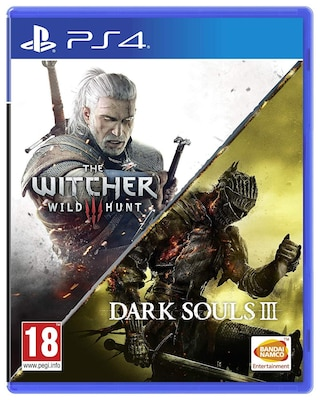 Dark Souls III & The Witcher 3 Wild Hunt Compilation - PS4 Game