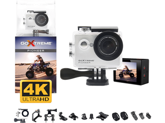 Action Camera GoXtreme Pioneer White 4K Ultra HD