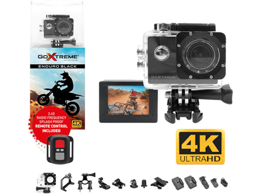 Action Camera GoXtreme Enduro Black 4K Ultra HD