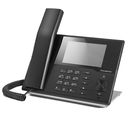 Innovaphone Ip232 Ip Phone Black Wired Handset