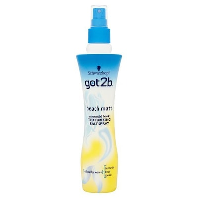 Schwarzkopf Got2b Beach Matt Texturizing Salt Spray 200ml