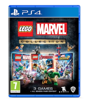 Lego Marvel Collection (3-pack) - PS4 Game