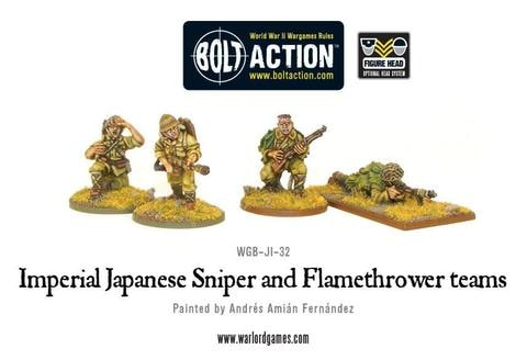 Imperial Japanese Sniper And Flame