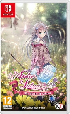 Atelier Lulua The Scion Of Arland- Nintendo Switch Game