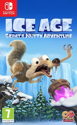 Ice Age Scrat's Nutty Adventure - Nintendo Switch Game