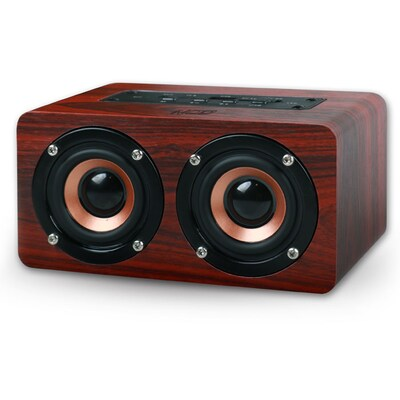 Nod Concerto Bluetooth Wooden Speaker 2x5w,brown Red / Bts-300 141-0108