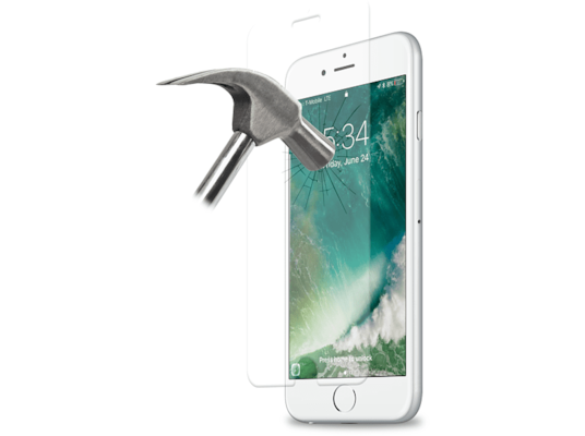 Μεμβράνη οθόνης iPhone 6/6s/7/8 - PURO Tempered Glass Screen Protector